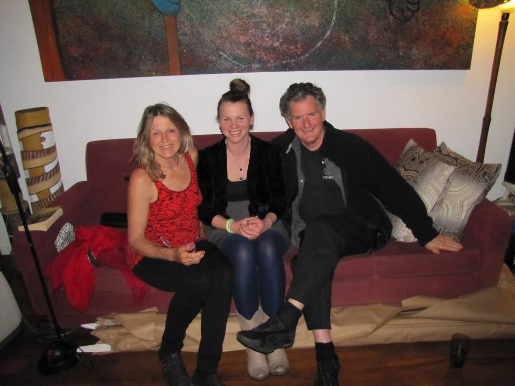 Anne and Adrian Newstead and myself.