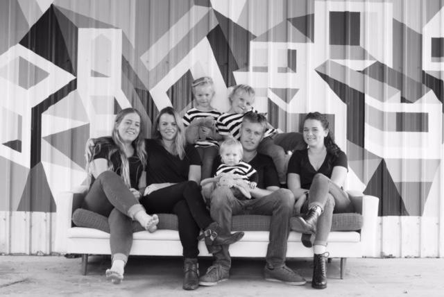 My family in 2015..