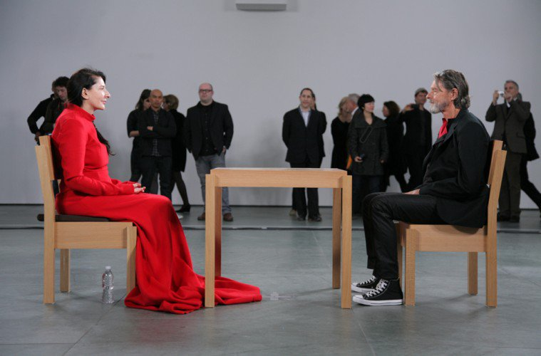 Marina Abramovic {Performance Artist}