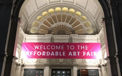 And it's a wrap ! – Affordable Art Fair installation